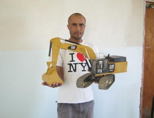 Excavator & Bulldozer
