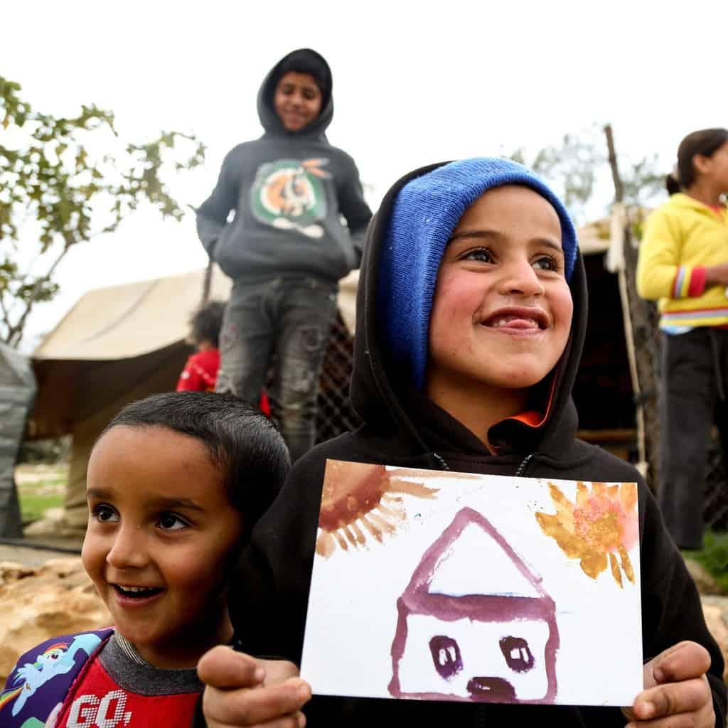 Art day in Um al-Khair