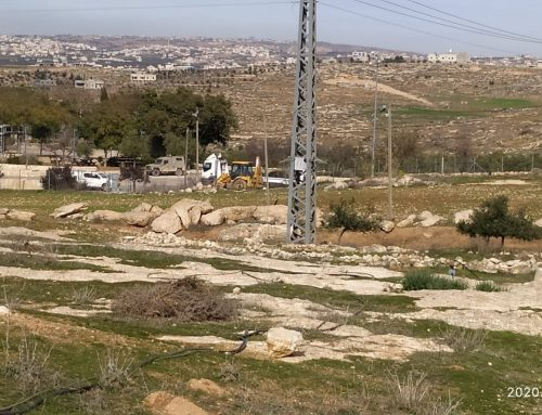 IDF confiscates private Palestinian property
