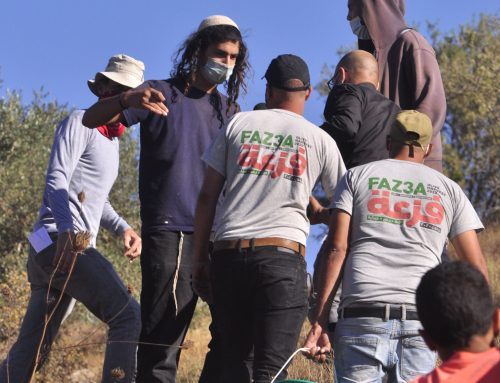 Settlers attack Palestinians with rocks, knives | 10.13.2020
